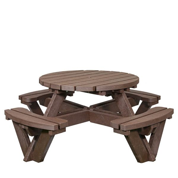 8 Seater Millar Recycled Plastic bench