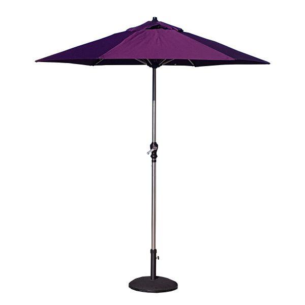 2.1m Parasol In Purple