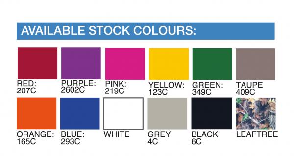 Standard Gazebo Colours